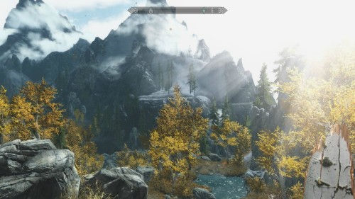 On my way to start the dawnguard quest line.
