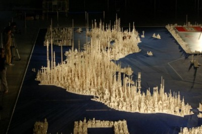 1.8 million LEGO map of Japan via Spoon & Tamago