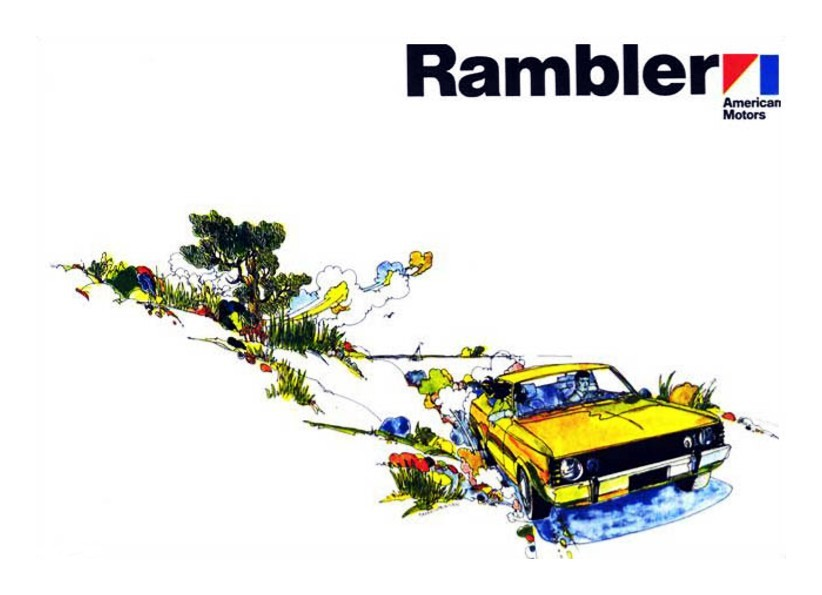 Rambler… 1970 American Motors brochure cover