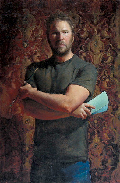 Zack Zdrale, Self-portrait with Color