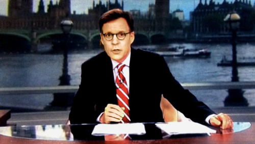 """I'm particularly mad at you, Bob Costas, for wearing those random yet intriguing glasses that kept disappearing and reappearing during last night's primetime telecast. Why'd you wait 'til Day 13 to transform into Harry Potter's wet hot American uncle? Those hipster specs of yours were just like the Olympics: As soon as you get invested — poof! They're gone. Brutal."""
