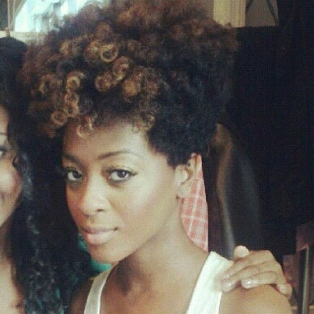 brownscript:  My hairspiration #naturalhair (Taken with Instagram)