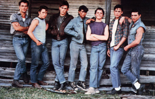 The Outsiders one of my Favorite books and movie