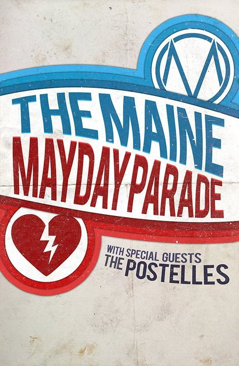 Los días de la gira de Mayday Parade y The Maine ya están anunciados.  Oct 21 Metro Chicago, ILOct 23 Sherman Theater Stroudsburg, PAOct 24 Union Transfer Philadelphia, PAOct 25 Best Buy Theatre Times Square New York, NYOct 26 Starland Ballroom Sayreville, NJOct 28 Howard Theatre Washington, DC Oct 30 Amos' Southend Music Hall Charlotte, NCOct 31 The Masquerade Atlanta, GA Nov 2 House of Blues Orlando, FLNov 3 Revolution Live Ft. Lauderdale, FLNov 4 High Dive Gainesville, FLNov 6 Rocketown Nashville, TNNov 9 Warehouse Live Houston, TXNov 10 Emo's East Austin, TXNov 11 House of Blues Dallas, TXNov 13 Cain's Ballroom Tulsa, OKNov 14 The Beaumont Club Kansas City, MONov 16 Summit Music Hall Denver, CONov 17 In the Venue Salt Lake City, UTNov 19 The Regency Ballroom San Francisco, CANov 20 House of Blues Los Angeles, CANov 21 Yost Theater Santa Ana, CANov 23 Soma San Diego, CANov 24 The Marquee Tempe, AZ