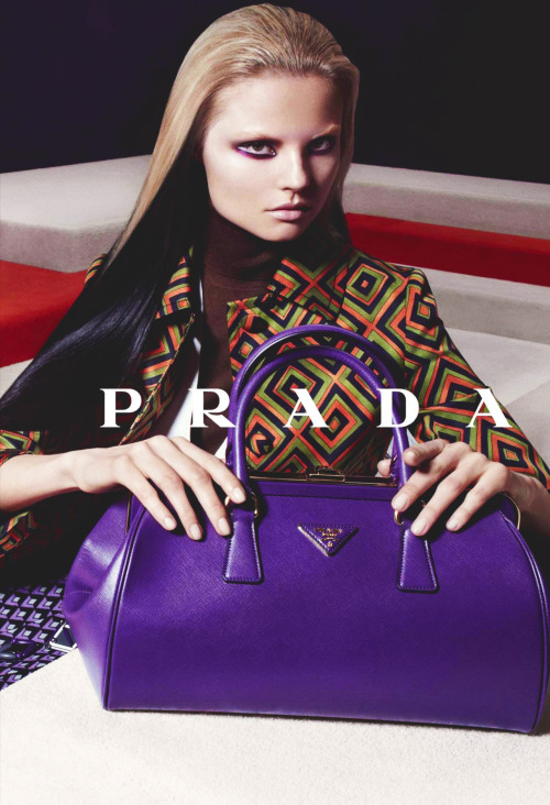 Magdalena Frackowiak/Prada Fall Winter 2012