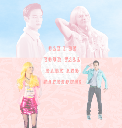 AU - pairing : 2min as Barbie & Ken