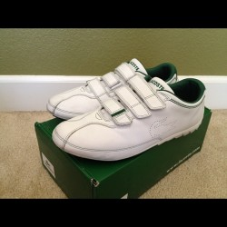 Lacoste Size 12. Don't sleep on these limited bangers Lake Placid #dragonjosbait  (Taken with Instagram at Jos Donut Shop)