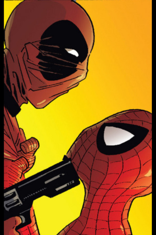 thatkrisfellows:  Spideypool no more!!!