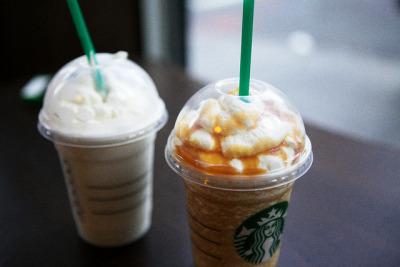 emptyforest:  frappuccinos by wanderingstoryteller on Flickr.