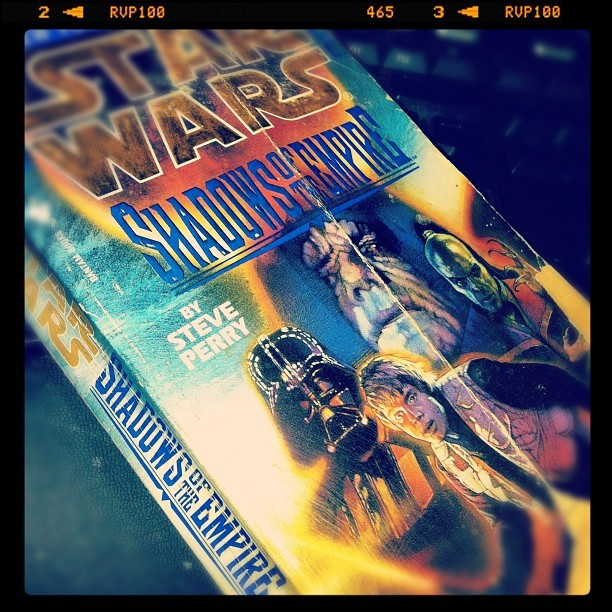White and nerdy #instagram #photooftheday #starwars #books (Taken with Instagram)
