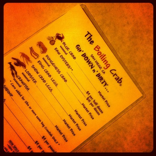 Boiling Crab (Taken with Instagram)