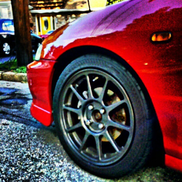#milanored #milano #integra #dc2 #typer #gsr (Taken with Instagram)