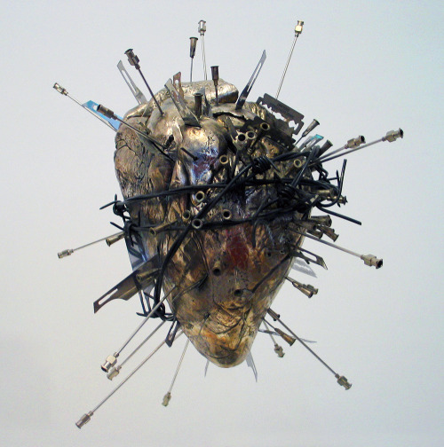 alecshao:  Damien Hirst - The Sacred Heart (2011)