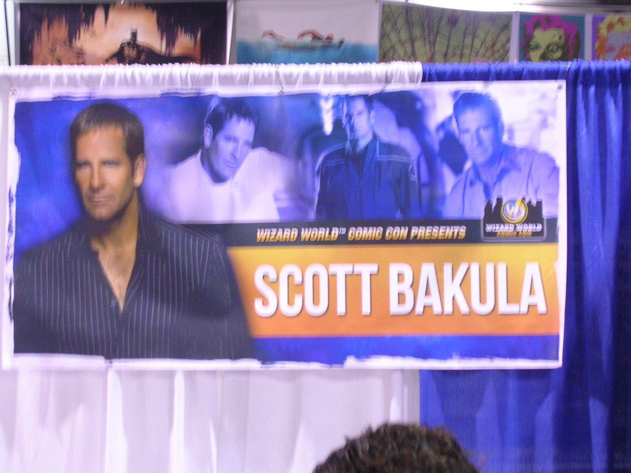 "Wizard World Chicago Comic Con Day 2 or ""OMG YOU GUYS I MET SCOTT BAKULA!!!!"""