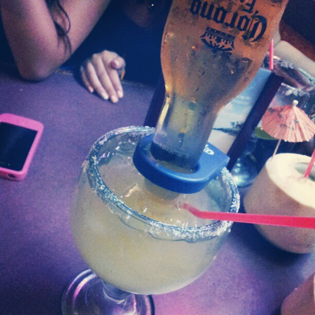 Oh, I'm a happy girl tonight. #coronarita  (Taken with Instagram)