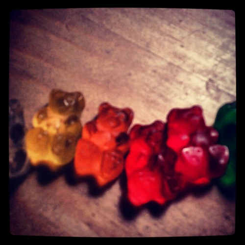 I'm so happy cause I'm a gummy bear GUMMY BEAR!