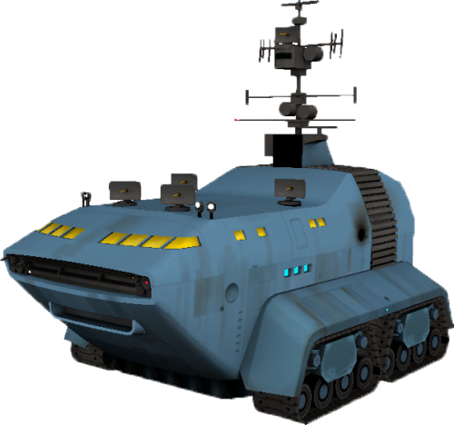 fuckyeahtf2:   Carrier tanks are large tanks that appeared on 2Fort, Badwater Basin, Doublecross, and Granary in the August 10, 2012 Patch.  Seems that the map update also brought along this huge Carriers that have been appearing in said map's skyboxes! If you click through to the wiki page, you can see just how they look against each maps skyline! What will these giant mechanical behemoths bring to the world of TF2? We can only wait and see.  Man vs Machine in the next update? A new game mode? Maybe it's just a troupe of Jawas jumping into alternate universes to bring the mercs a large selection of droids at a decent price?