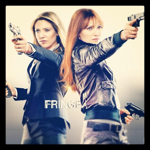 Two halves of the same coin! #OliviaDunham & #BoliviaDunham from #Fringe. #fringeonfox #fringedivision #cortexiphan #psychicabilities #sharpshooter #redhead #blonde #alternateuniversive #earthprime #primeuniverse  (Taken with Instagram)