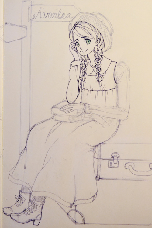 Work in progress.Anne Shirley is one of my favorite characters. She will never be a cliche.