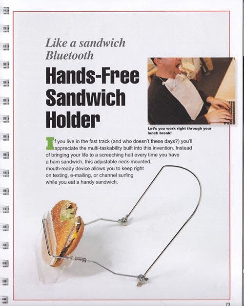 ffishy:  Hands-Free Sandwich Holder