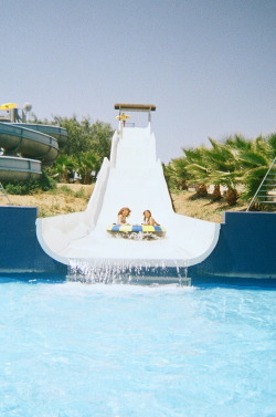 candycolouredfrown:  At the Waterpark in Italy