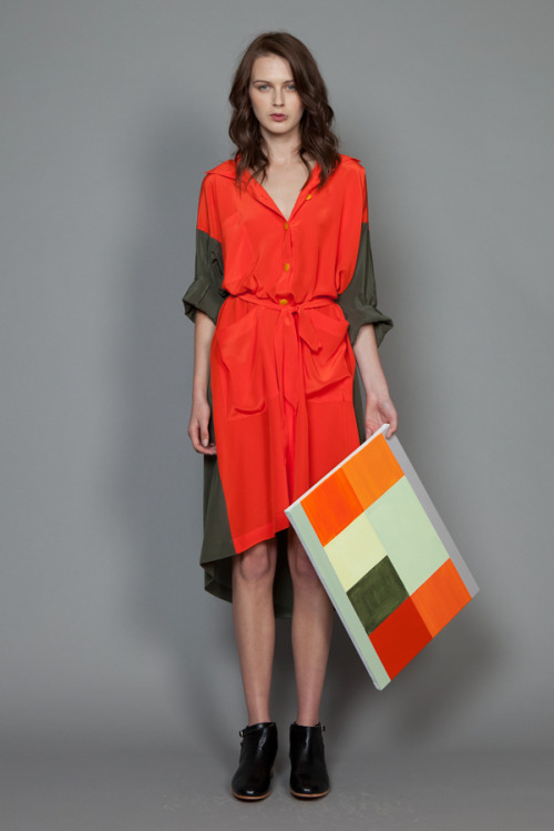 "zoewalker:  ""River Niger"" shirt dress by Miss Crabb"