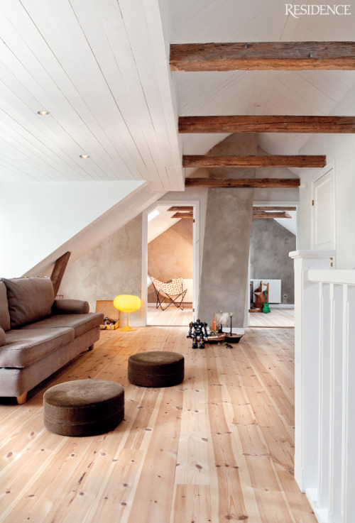 justthedesign:  justthedesign: Renovated Vicarage In The South Of Sweden