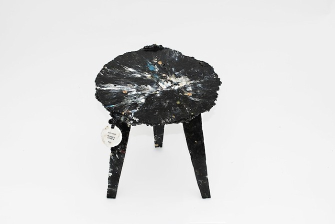 Sea chair by Studio Swine// plastic recovered from our oceans