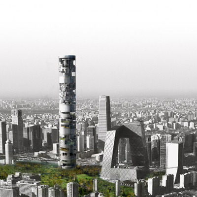 Mock Firm Skyscraper Proposal / ANDO & Andalucia Office / 2012