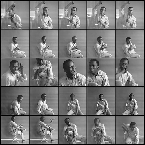 Miles Davis circa 1955/56, by Tom Palumbo