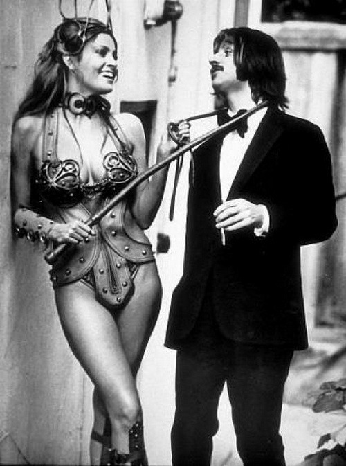 theswinginsixties:  Raquel Welch and Ringo Starr
