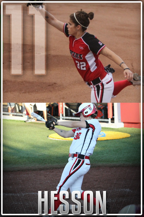 Ranking the top 15 NPF players of the 2012 season to countdown to the Pro Fastpitch Playoffs  #11 Brianna Hesson, Akron Racers, 1BFor the 3rd straight player in the countdown, we have another former Georgia Bulldog. Unlike Wiggins and Goler though, Brianna Hesson did not have the glorified rookie campaign. Playing for the Diamonds, statistics were not up at a level many people expected. The entire season only yielded 2 home runs and just 6 RBIs. Expectations were not too high for 2012. A with change of scenery and reuniting with another former Bulldog Taylor Schlopy in Akron, Hesson has been a bright spot on a Racers team that has underachieved this season. She has managed to raise her batting average 120 points while more then doubling her HR total and tripling her RBI total. Hesson has worked her way into an everyday player even while splitting time at first base. The Racers will need her bat to come up big in the playoffs if they hope to compete for the title. #10 find out August 12th#11 Brianna Hesson, Akron Racers, 1B#12 Alisa Goler, Chicago Bandits, 1B#13 Megan Wiggins, Chicago Bandits, OF#14 Ashley Charters, USSSA Pride, 2B#15 Natasha Watley, USSSA Pride, SS Keep in mind, these rankings are in my opinions based on stat books and what I have seen on the field this season in the games I have attended or watched online.