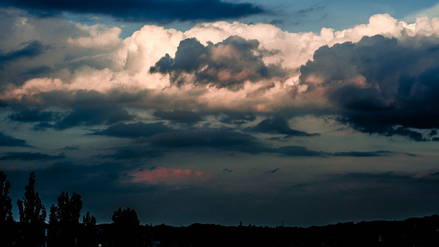 cloudy over graz on Flickr.