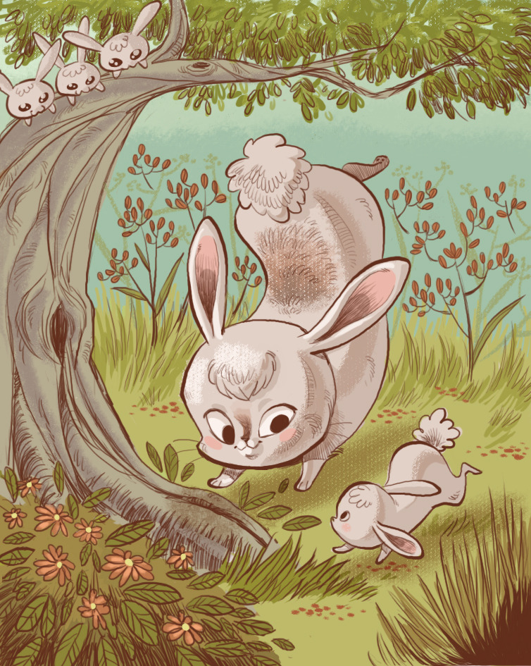 Bunnies by ~tinysnail
