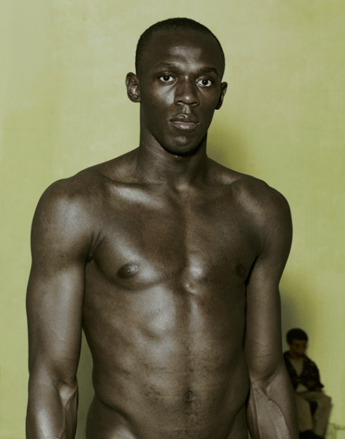 tornandfrayed:  Usain Bolt by Nadav Kander.