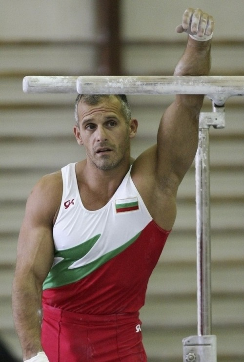 bornthiswayblog:  Incredibly handsome Bulgarian gymnast,Jordan Jovtchev
