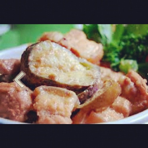 Pork Binagoongan (Taken with Instagram)
