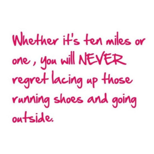 Morning Run-spiration!  I got my 7 miles in the AM, what about you?
