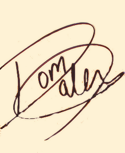 daleythomasrobert:  Tom's signature.   (via imgTumble)