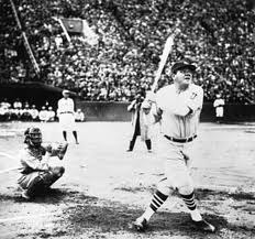 This Day In Baseball History: August 11, 1929 - Babe Ruth of the New York Yankees became the first major league player to hit 500 home runs when he connected off Willis Hudlin of the Indians at Dunn Field in Cleveland.   keepinitrealsports.tumblr.com  pinterest.com/mysterkeepinit  keepinitrealsports.wordpress.com  facebook.com/pages/KeepinitRealSports/250933458354216  Mobile- m.keepinitrealsports.com