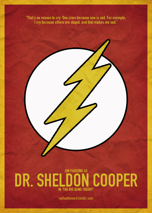 Nathan's Top 20 TV Characters↳ #11 - Dr. Sheldon Cooper - The Big Bang Theory