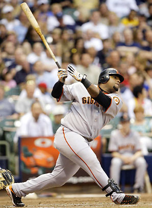 Happy Birthday: Pablo Sandoval  August 11, 1986 - Pablo Eisler Sandoval, nicknamed Kung Fu Panda, is a Venezuelan professional baseball infielder for the San Francisco Giants of Major League Baseball. A two-time All-Star third-baseman, Pablo Sandoval has played Major League Baseball for the San Francisco Giants since 2008. Nicknamed 'Kung Fu Panda' for his stout build, Sandoval has a career batting average of .307. He was on the Giants' team that won the 2010 World Series.  keepinitrealsports.tumblr.com  pinterest.com/mysterkeepinit  keepinitrealsports.wordpress.com  facebook.com/pages/KeepinitRealSports/250933458354216  Mobile- m.keepinitrealsports.com