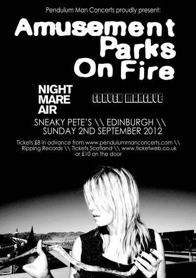 Yes - we orchestra are supporting Amusement Parks On Fire. We actually are. x