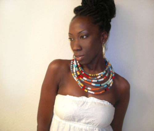 Superlong Masai Wrap Necklace…