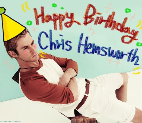 arsonist01:  i love you so much Chris. Happy birthday