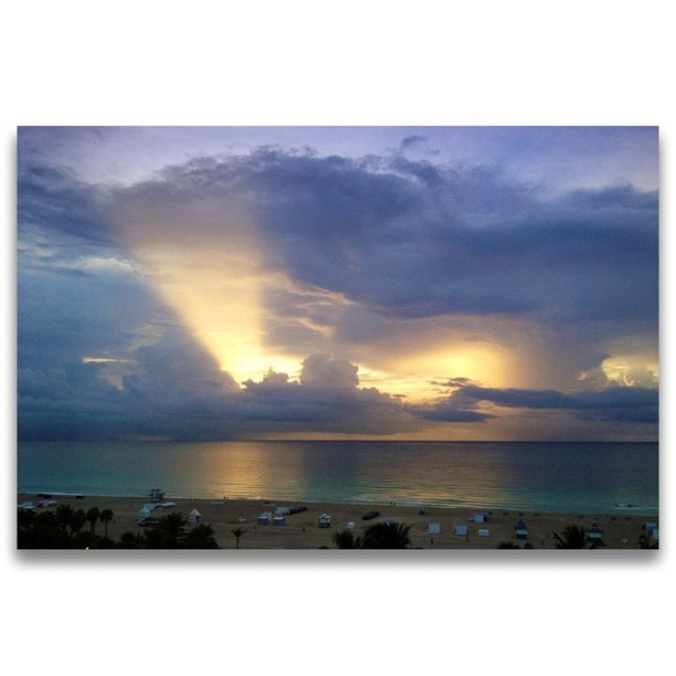 South Beach Sunrise (Taken with Instagram)