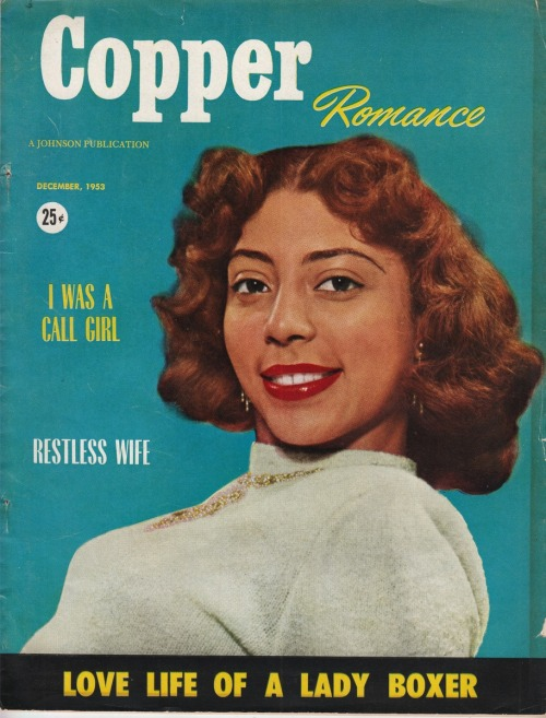 Copper Romance, December 1953 Source: Collectors Weekly