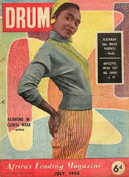 Drum magazine (Africa), July 1956 Source: 16 Stone Vintage