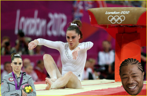 McKayla is not impressed with McKayla.