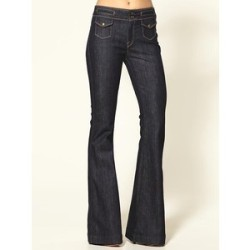 Erin High Waist Dark Flare Leg Jeans- piperlime.gap.com High-waisted with a flared leg? I'll bite.